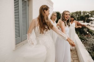 Josephine with bridal party