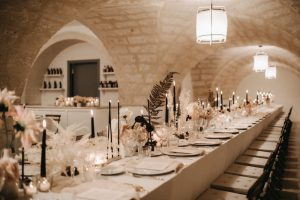 wedding reception in Masseria San Giovanni
