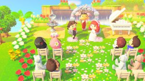 Virtual wedding of @HalfBloodMartha
