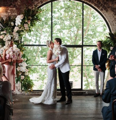 Phoebe & Kane's Art Deco Inspired Wedding