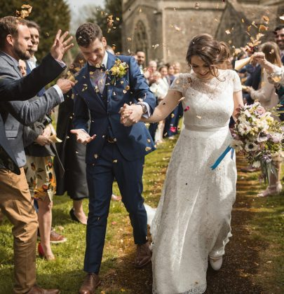 Melissa & Thomas'  Country Wedding in the Cotswolds