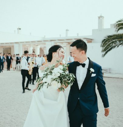 Jieyu & Jordan's Italian Destination Wedding  at Masseria Potenti