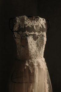 Alexandra's gorgeous wedding gown by Anna Fucà Atelier