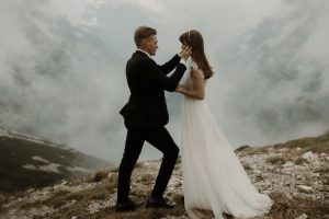 Alex & Leif's elopement in Italian Alps