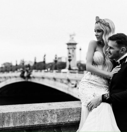 Leah & Grant's Chic Parisian Wedding