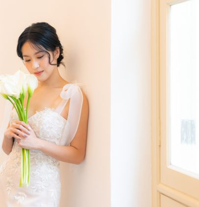 An Exclusive with Bride-To-Be,  Zoen Tay, in Ethereal Gowns